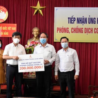 Đồng hành cùng TP Đà Nẵng trong công tác phòng, chống dịch Covid-19